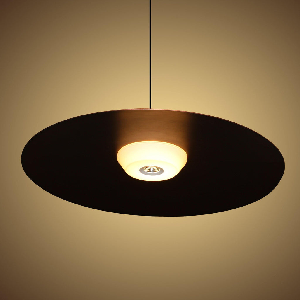 Ankur Metal Saucer Hanging Light