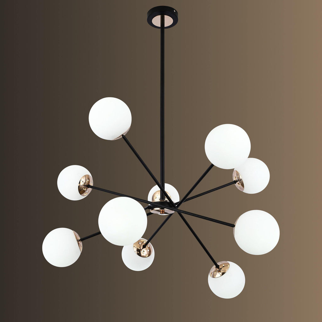 Ankur 10 Light Hydron Chandelier