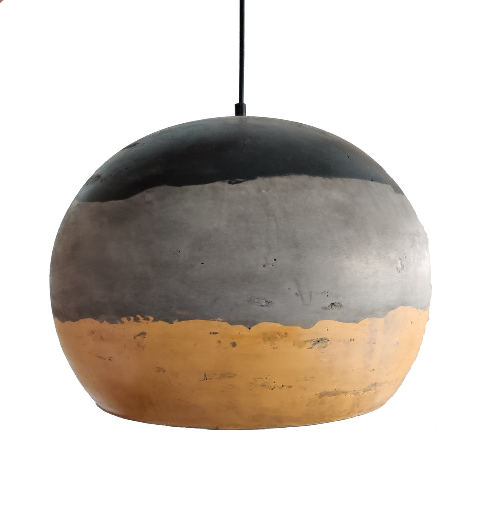 Ankur Painted Dome Concrete Hanging