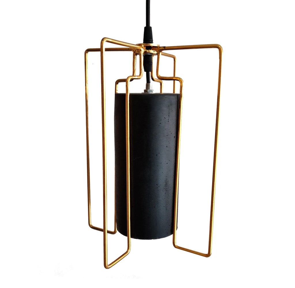 Ankur Golden Cage Concrete Hanging