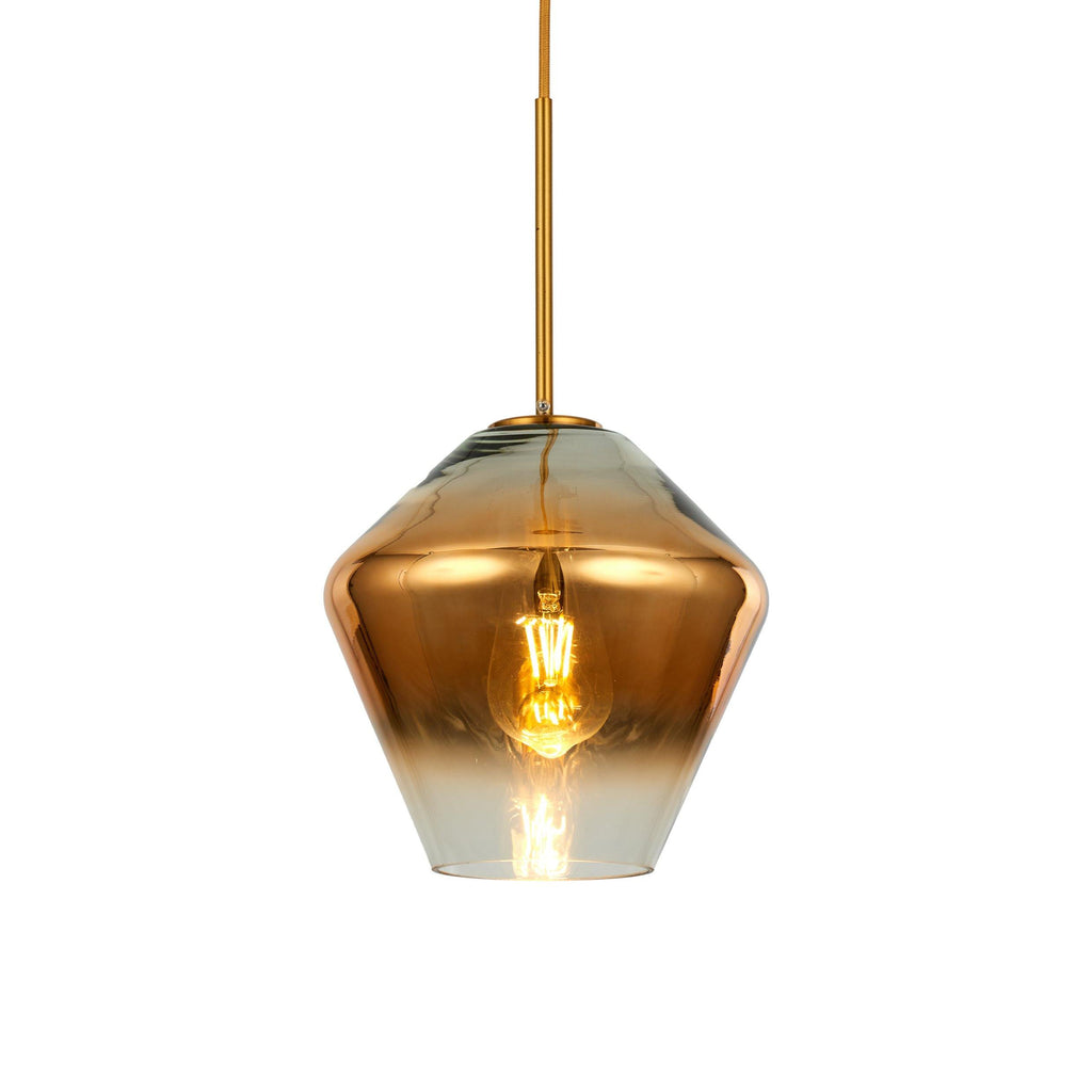 Ankur Cora Golden Gradient Type B Hanging Light - Ankur Lighting