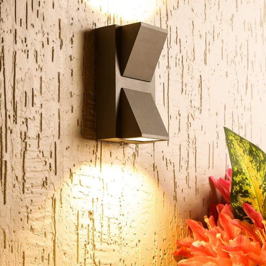 Ankur Vee Up Down Outdoor Waterproof IP Rated LED Wall Light - Ankur Lighting