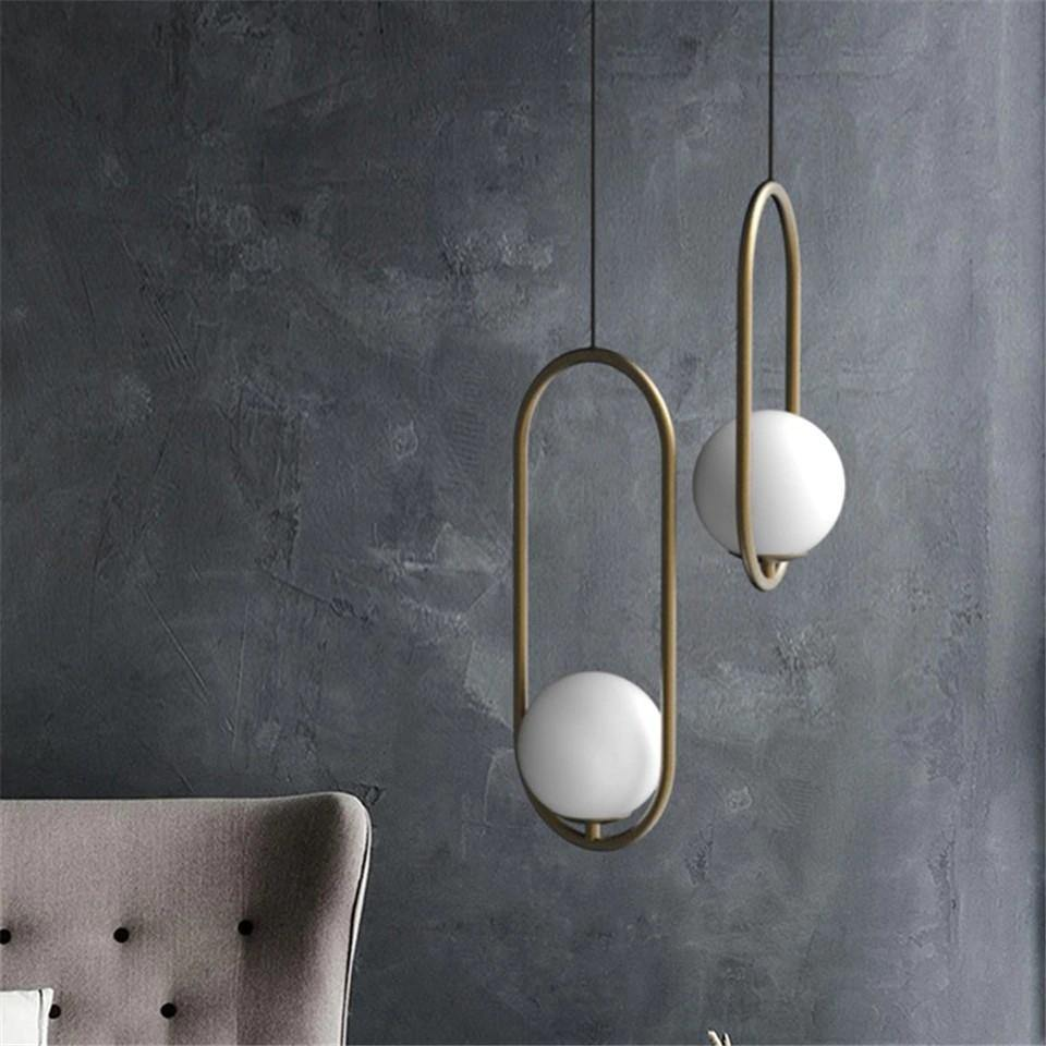 Ankur Nordic Ball Pendant Light