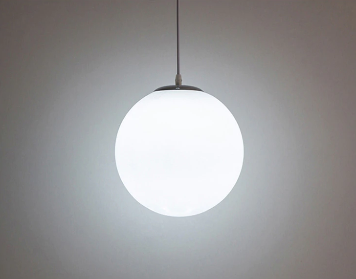 Ankur Frosted Globe Pendant Light - Ankur Lighting