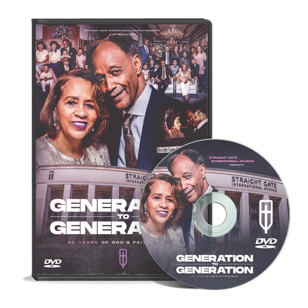 40 Years of God's Faithfulness - Generation to Generation DVD
