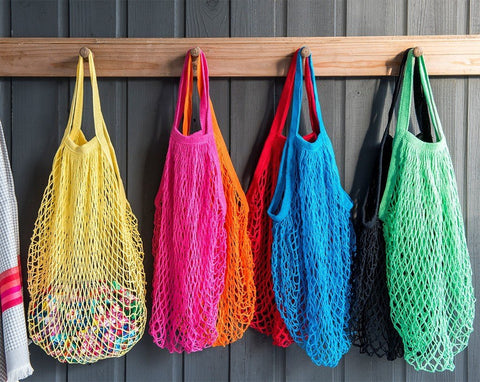 string shopping bag