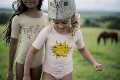 Sunshine Leotard - Oh Happy Fry - we ship worldwide