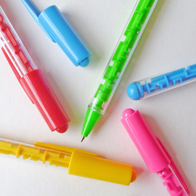 Labyrinth Pen (Assorted Colours)