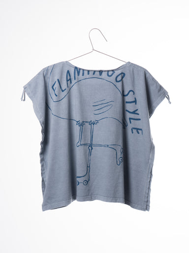 T-Shirt Drawstring Flamingo