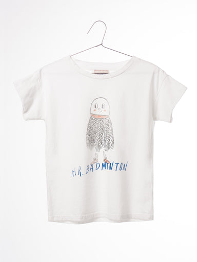 T-Shirt Mr Badminton - Oh Happy Fry - we ship worldwide