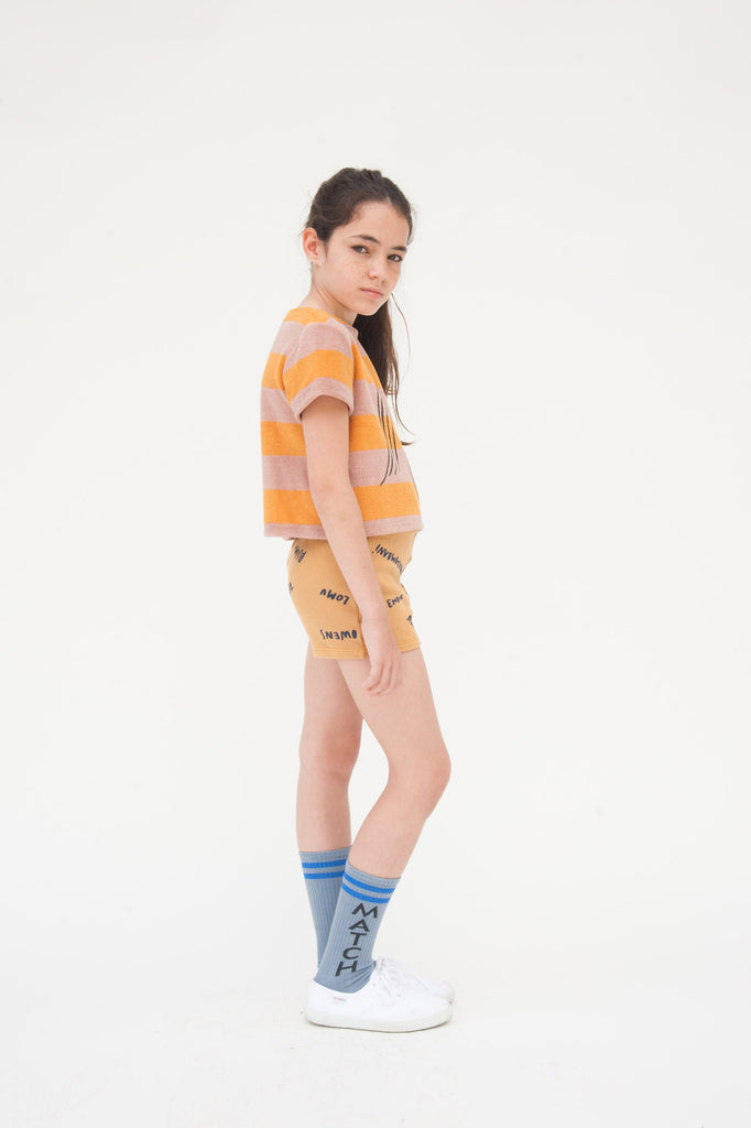 Striped Terry Top Slide - Oh Happy Fry  - 3