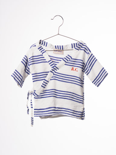 Striped Kimono Shirt B.C. Team - Oh Happy Fry - we ship worldwide