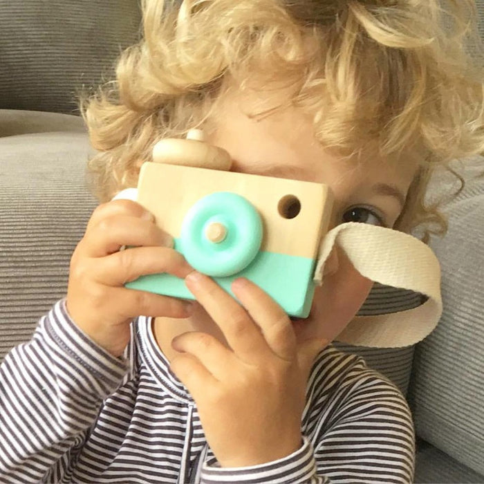 Wooden Toy Camera - Oh Happy Fry  - 1