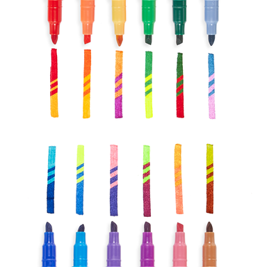 Switcheroo Color Changing Markers (Set of 12) - Oh Happy Fry