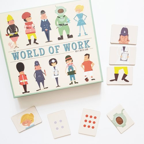 World Of Work Mix And Match Game - Oh Happy Fry