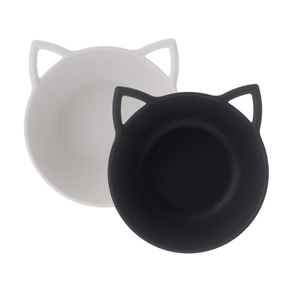 Cat Cereal Bowl - Ivory