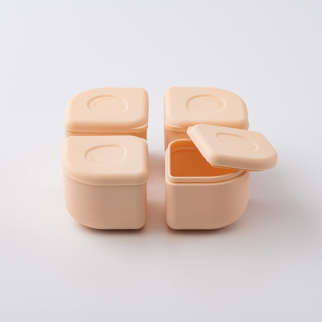 Miniware Silipods Silicone Freezer Storage Containers (2pc) (3 Colours) - Oh Happy Fry - we ship worldwide