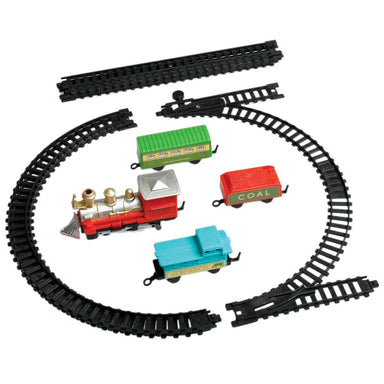 Traditional Miniature Battery Operated Train Set