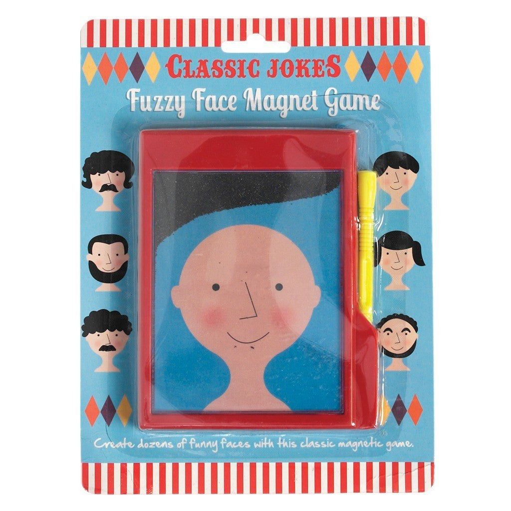 Fuzzy Face Magnet Game - Oh Happy Fry - we ship worldwide