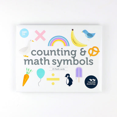 Counting & Math Symbol Flash Cards - Oh Happy Fry - we ship worldwide