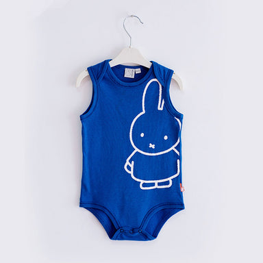 Miffy Romper - Blue - Oh Happy Fry - we ship worldwide