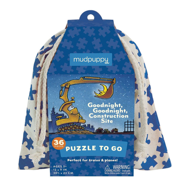 Goodnight, Goodnight Construction Site Puzzle To Go - Oh Happy Fry - we ship worldwide