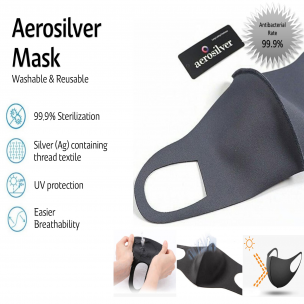 PREORDER Aerosilver™ Kids Face Mask (end July delivery) - Oh Happy Fry - we ship worldwide