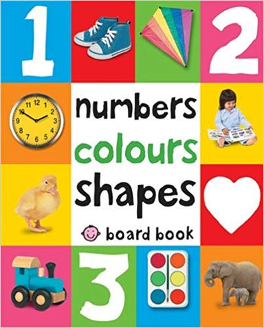 First 100 Numbers, Colours, Shapes (Soft to Touch Board Book)