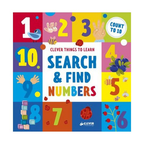 Search & Find Numbers: Count to 10 (Hardcover Book)