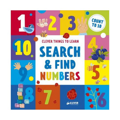 Search & Find Numbers: Count to 10 (Hardcover Book) - Oh Happy Fry - we ship worldwide