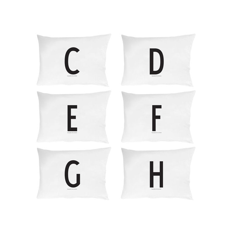 Personal Initial pillowcase 70x50 cm