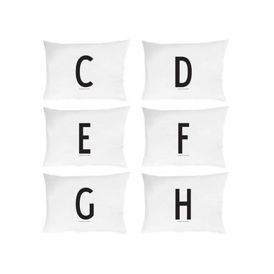 Personal Initial pillowcase 70x50 cm - Oh Happy Fry - we ship worldwide