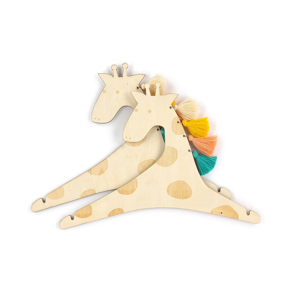 Giraffe Hangers - Pack of 2 - Oh Happy Fry - we ship worldwide