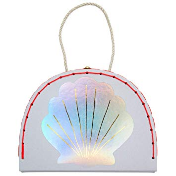 Sophia House Mini Mermaid Suitcase - Oh Happy Fry - we ship worldwide