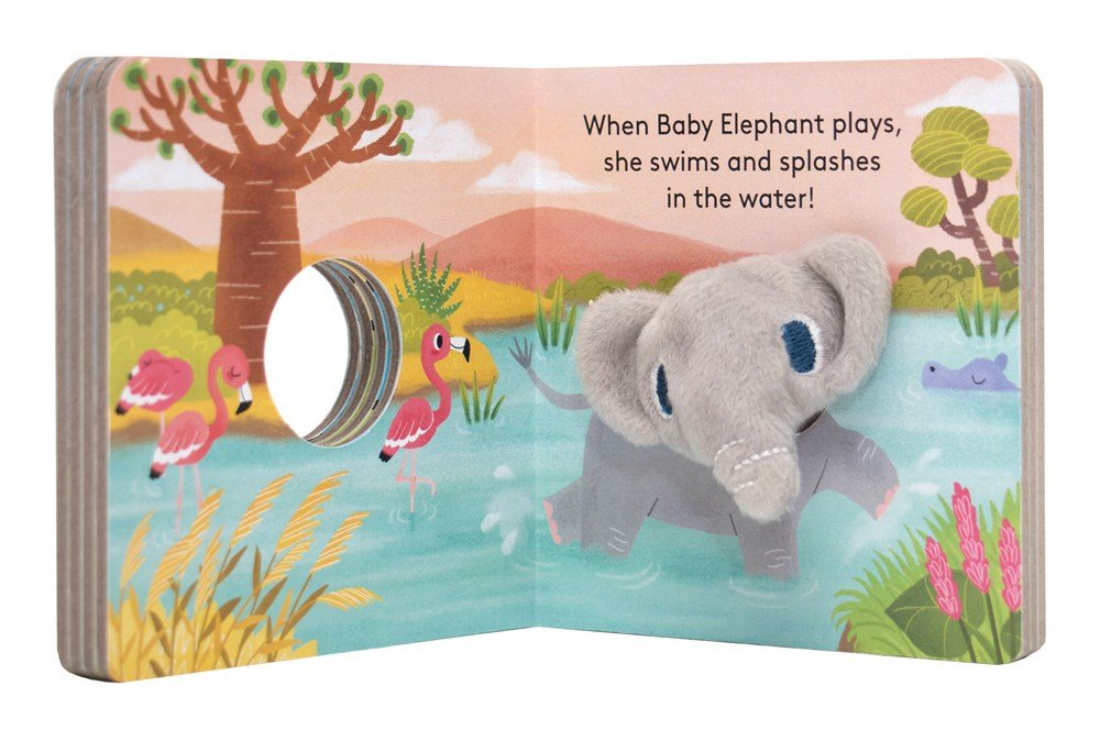 Baby Elephant: Finger Puppet Book (Board Book)