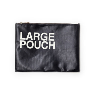 Large Carry Around Top Zip Pouch - Oh Happy Fry - we ship worldwide