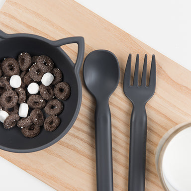 (BACKORDER) Mono Fork & Spoon Set (2 colours) - Oh Happy Fry - we ship worldwide