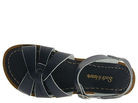 Salt Water Sandal The Original Sandal (Adult) - Navy - Oh Happy Fry  - 3