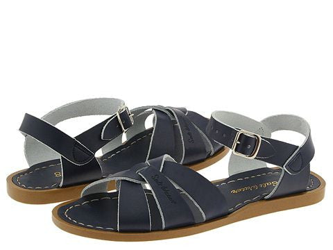 Salt Water Sandal The Original Sandal (Adult) - Navy - Oh Happy Fry  - 1