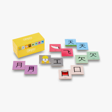 Chineasy Memory Card Game - Oh Happy Fry - we ship worldwide