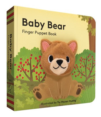 Baby Bear: Finger Puppet Book (Board Book) - Oh Happy Fry - we ship worldwide