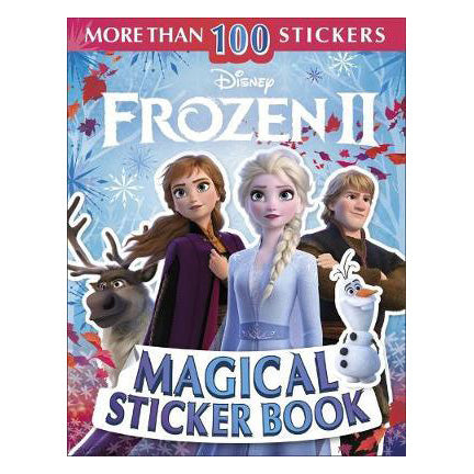 Disney Frozen 2 Magical Sticker Book (Paperback) - Oh Happy Fry - we ship worldwide