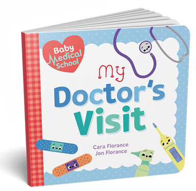 Baby Medical School: My Doctor's Visit (Baby University) Board book - Oh Happy Fry - we ship worldwide