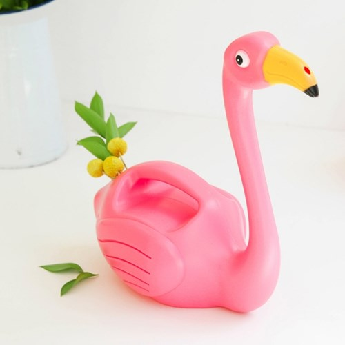Flamingo Watering Can - Oh Happy Fry - we ship worldwide
