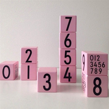 Design Letters Number Cube - Oh Happy Fry - we ship worldwide