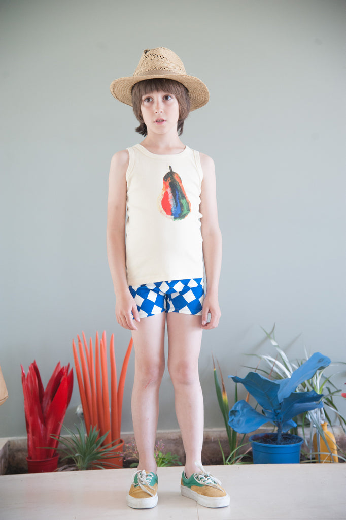 Boy Swimsuit Diamonds - Oh Happy Fry - we ship worldwide