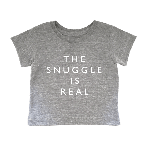 'The Snuggle is Real' Tee - Oh Happy Fry  - 1