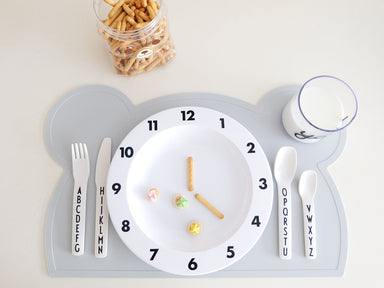 Grey Bear Silicone Placemat - Oh Happy Fry - we ship worldwide