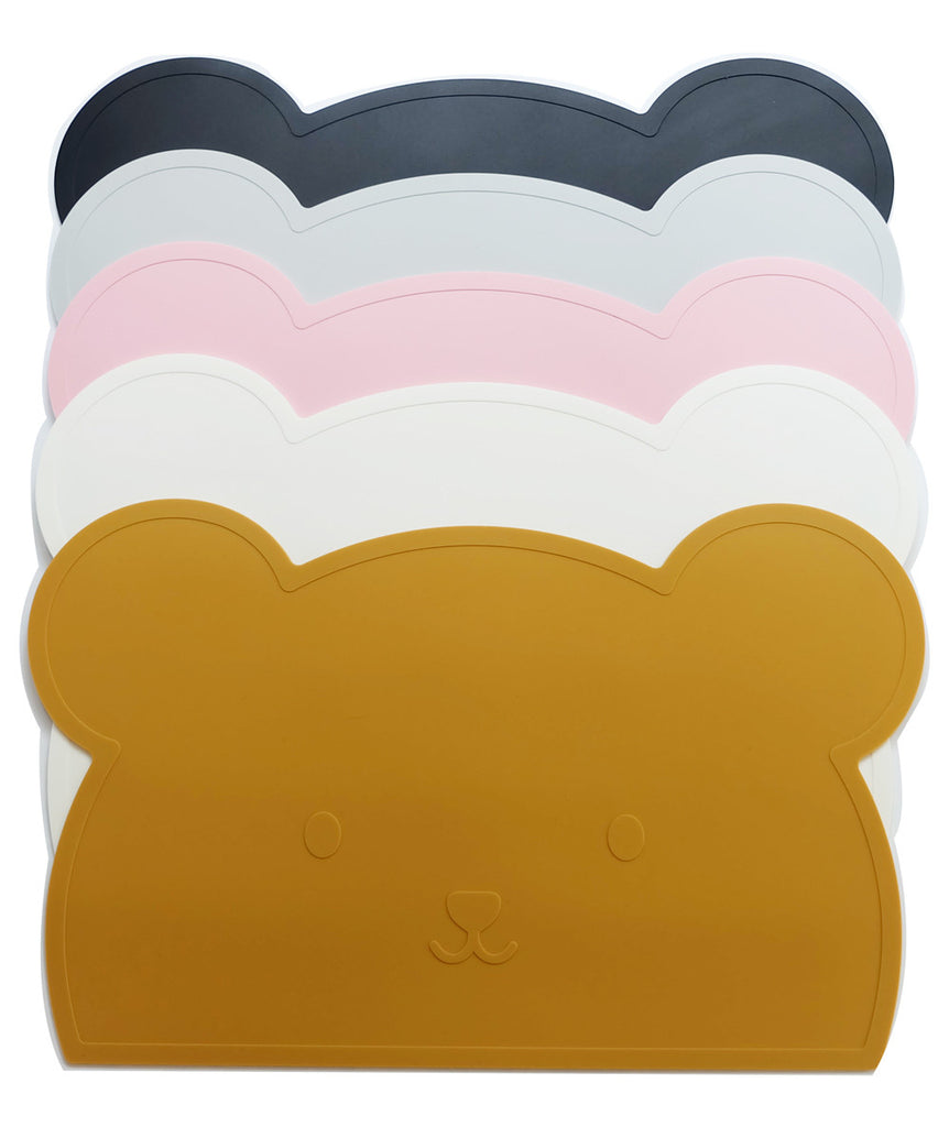 Grey Bear Silicone Placemat - Oh Happy Fry  - 3