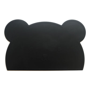 Black Bear Silicone Placemat - Oh Happy Fry  - 1